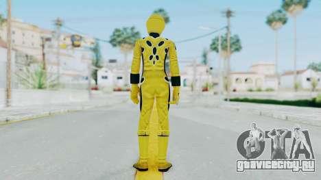 Power Rangers Jungle Fury - Yellow для GTA San Andreas третий скриншот