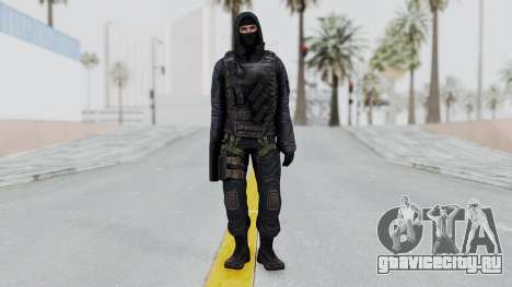 SAS No Gas Mask from CSO2 для GTA San Andreas второй скриншот