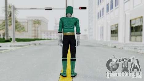 Power Rangers Samurai - Green для GTA San Andreas третий скриншот