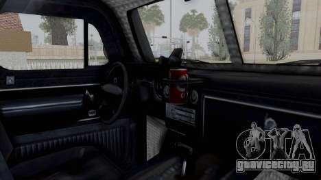 GTA 5 Bravado Duneloader Cleaner для GTA San Andreas вид изнутри