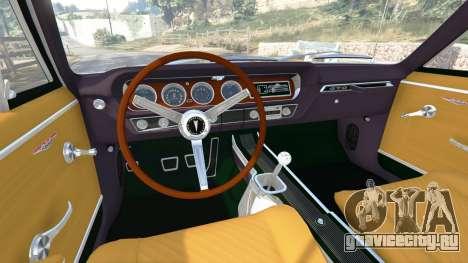 Pontiac Tempest Le Mans GTO 1965 для GTA 5