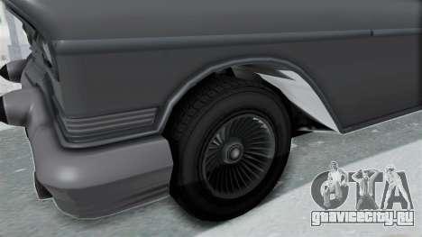 GTA 5 Declasse Tornado No Hifi and Hydro для GTA San Andreas вид сзади