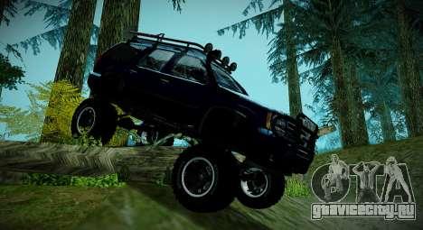 Chevrolet Tahoe LTZ 4x4 для GTA San Andreas вид слева