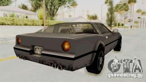 Beta VC Banshee для GTA San Andreas вид слева