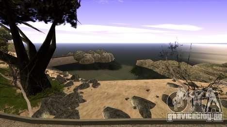 Строительство моста и густой лес для GTA San Andreas одинадцатый скриншот