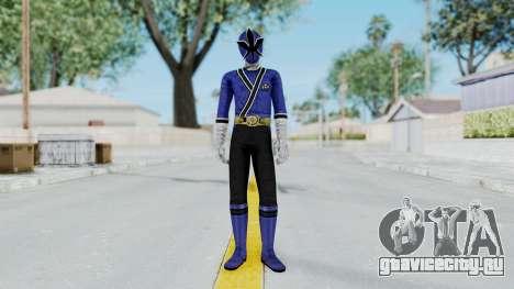 Power Rangers Samurai - Blue для GTA San Andreas второй скриншот