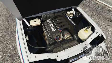 BMW M3 (E30) 1991 v1.3 для GTA 5 вид справа