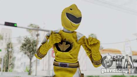 Power Rangers Dino Thunder - Yellow для GTA San Andreas