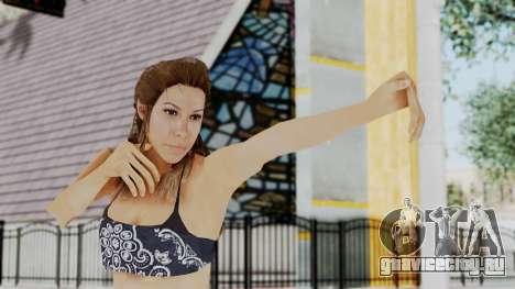 GTA 5 Liz (Elisa Macallen) для GTA San Andreas