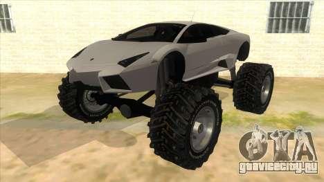 Lamborghini Reventon Monster Truck для GTA San Andreas