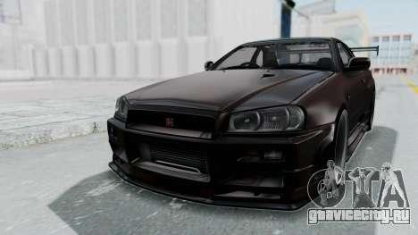 Nissan Skyline R34 GTR 2002 V-Spec II S-Tune для GTA San Andreas