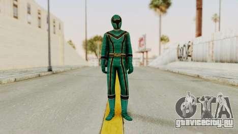 Power Rangers Mystic Force - Green для GTA San Andreas второй скриншот