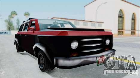 VCS Gang Rancher для GTA San Andreas вид справа