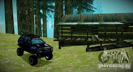 Chevrolet Tahoe LTZ 4x4 для GTA San Andreas вид снизу