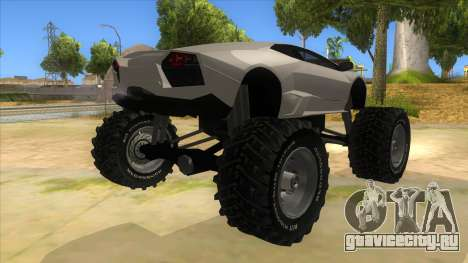 Lamborghini Reventon Monster Truck для GTA San Andreas вид справа