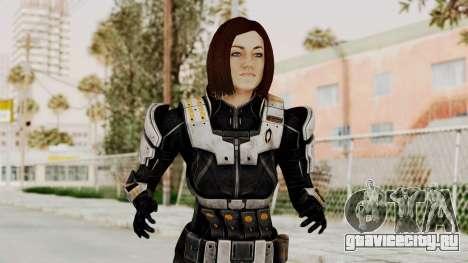 Mass Effect 3 Miranda Short Hair Ajax Armor для GTA San Andreas