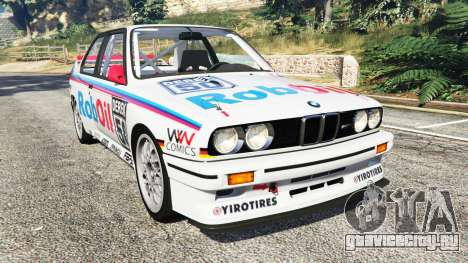 BMW M3 (E30) 1991 v1.3 для GTA 5