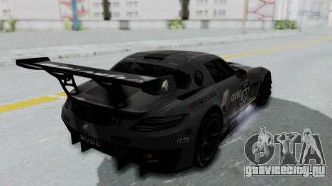 Mercedes-Benz SLS AMG GT3 PJ5 для GTA San Andreas вид сверху