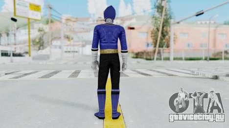 Power Rangers Samurai - Blue для GTA San Andreas третий скриншот