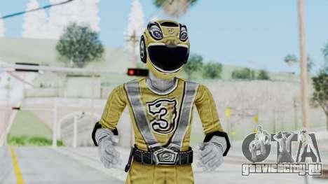 Power Rangers RPM - Yellow для GTA San Andreas
