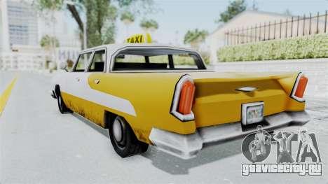 GTA VC Oceanic Taxi для GTA San Andreas вид слева