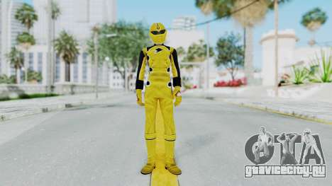 Power Rangers Jungle Fury - Yellow для GTA San Andreas второй скриншот