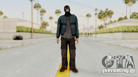 Wanted Weapons Of Fate Chicago Grunt Masked для GTA San Andreas второй скриншот