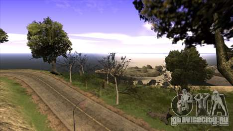 Строительство моста и густой лес для GTA San Andreas четвёртый скриншот