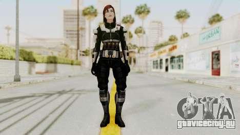Mass Effect 3 Female Shepard Ajax Armor для GTA San Andreas второй скриншот