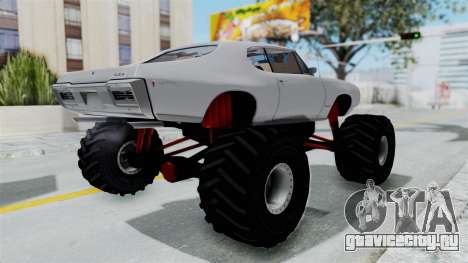 Pontiac GTO 1968 Monster Truck для GTA San Andreas вид справа