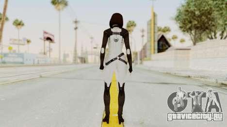 ME3 Dr. Eva Custom Miranda Castsuit для GTA San Andreas третий скриншот