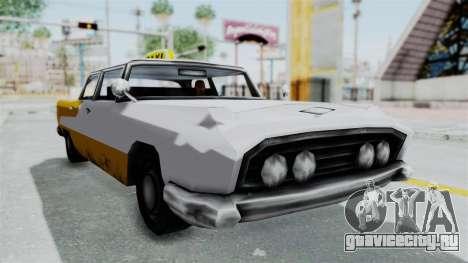 GTA VC Oceanic Taxi для GTA San Andreas вид справа