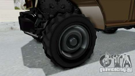 GTA 5 Bravado Duneloader Cleaner для GTA San Andreas вид сзади