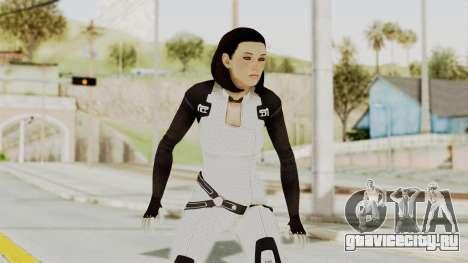 ME3 Dr. Eva Custom Miranda Castsuit для GTA San Andreas