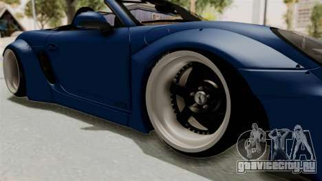 Porsche Boxster Liberty Walk для GTA San Andreas вид сзади