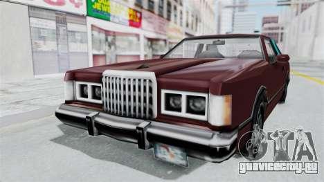 Beta VC Cougar для GTA San Andreas