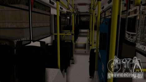 Todo Bus Pompeya II Agrale MT15 Linea 71 для GTA San Andreas вид сбоку