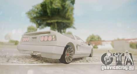 Infernus для GTA San Andreas вид справа