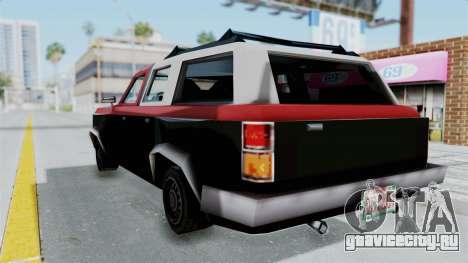 VCS Gang Rancher для GTA San Andreas вид слева