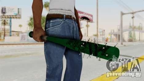 Nail Baseball Bat v1 для GTA San Andreas