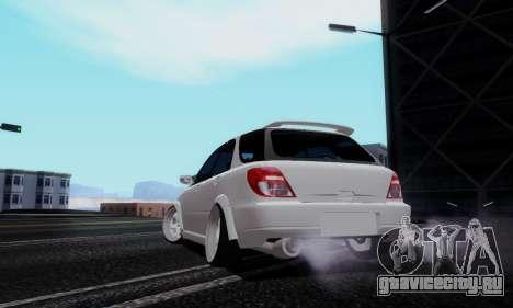 Subaru Impreza WRX STi Wagon Stens для GTA San Andreas вид слева