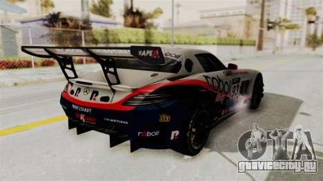 Mercedes-Benz SLS AMG GT3 PJ1 для GTA San Andreas колёса