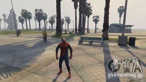 Amazing Spiderman для GTA 5 четвертый скриншот