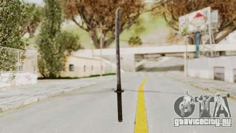 Skyrim Iron Wakizashi для GTA San Andreas второй скриншот