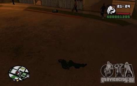CJ Animation ped для GTA San Andreas четвёртый скриншот