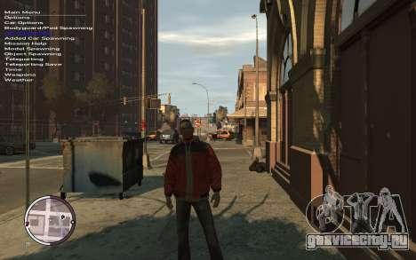 Native Trainer GTA EFLC ENG [STEAM] для GTA 4 второй скриншот