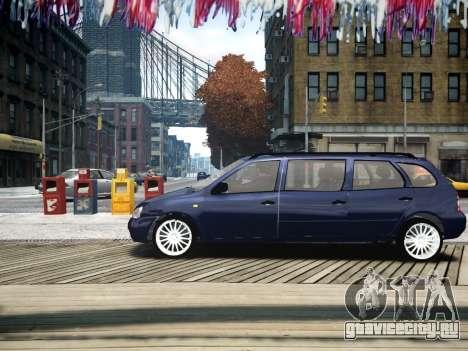 ВАЗ 1117 Калина 7-door для GTA 4 вид слева