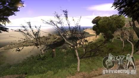 Строительство моста и густой лес для GTA San Andreas пятый скриншот
