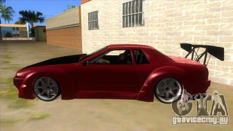 Elegy Tio Sam Style для GTA San Andreas вид слева