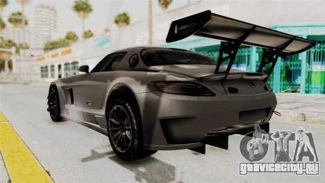 Mercedes-Benz SLS AMG GT3 PJ1 для GTA San Andreas вид слева